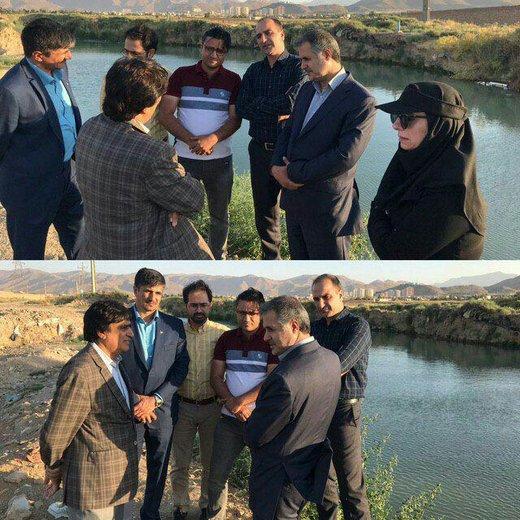 حقابه تالاب از رودخانه قره کهریز از تصرف روستاییان خارج شد