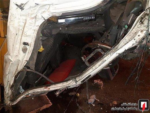واژگونی کامیونتکمپرسی در خیابان سیمون بولیوار