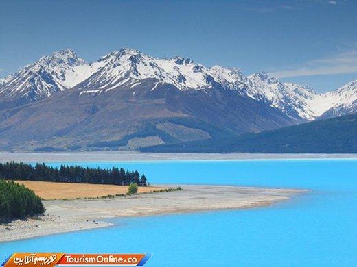 دریاچه پوکاکی نیوزیلند