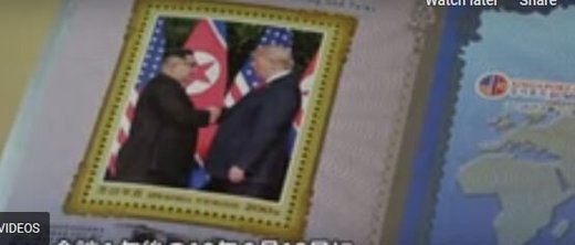 دولت کره شمالی تمبر ترامپ و اون را چاپ کرد