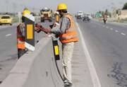 علائم رانندگی در جادههای آذربایجانشرقی نصب و بهسازی شد