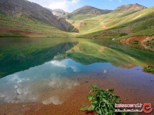 دریاچه لزور، معجزه چشمه بخش ارجمند در روستای لزور