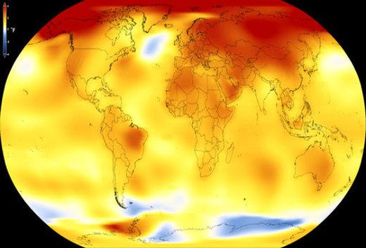 ژوئیه ۲۰۱۹ گرمترین ماهی که دنیا تجربه کرد/ جهان چند درجه گرم شده ؟
