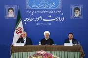 "President Rouhani says Zarif ""representative of nation"""