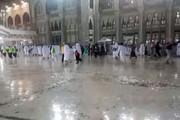 فیلم | تازهترین ویدئو از باران در حرم امن الهی