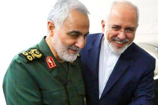 دو روی حمایت سردار سلیمانی از ظریف؛ از انتقاد به گاندوسازان تا پیام به کاخ سفیدیها