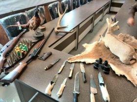 کشف و ضبط تروفه جانوران وحشی در شهرستان ازنا