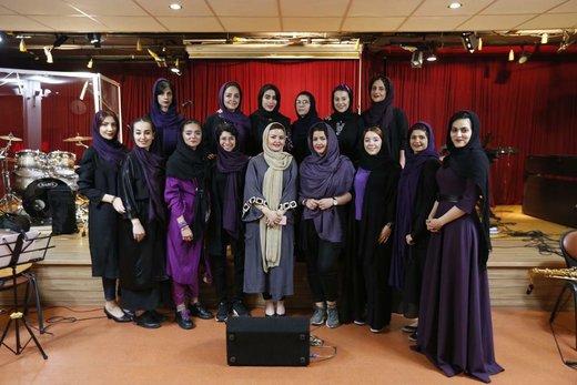 برگزاری کنسرت گروه ستاره قطبی برای بانوان