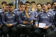 عکس | دیدار اعضای تیم ملی والیبال جوانان با رهبر انقلاب