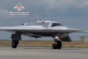 فیلم | اولین تصاویر منتشرشده از جنگنده بدون سرنشین روس