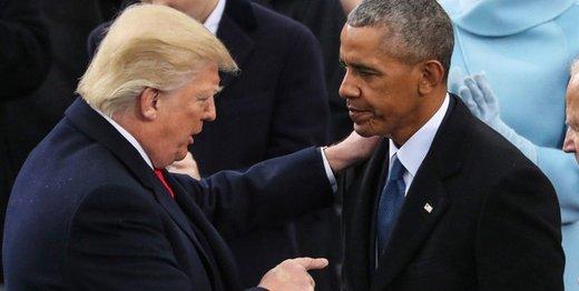اوباما سکوت در قبال ترامپ را شکست/ ترامپ پاسخ داد