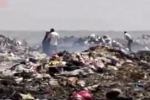 فیلم | مزرعه زباله در تالاب بینالمللی شادگان!