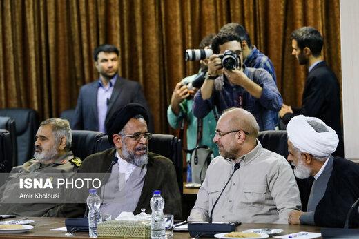 تصویری از احمدینژاد و قالیباف بعد از افشای خبر دیدار جنجالیشان