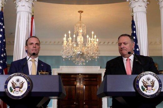 وزیر خارجه انگلیس در نشست خبری با پمپئو درباره ایران چه گفت؟