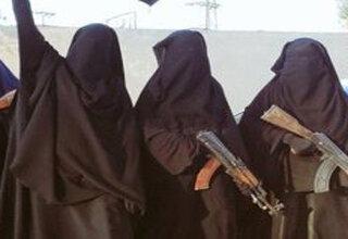 زنان قصاب داعش گیر افتادند
