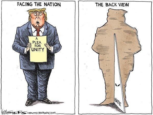 پشت و روی متفاوت یک رئیس جمهور!