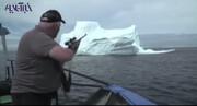 فیلم | شکار کوه یخ!