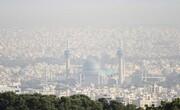 هوای سه شهر ناسالم است