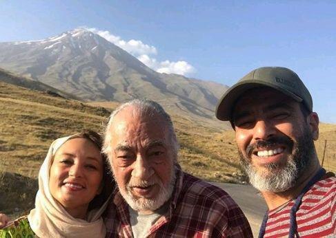کوهنوردی سحر ولدبیگی با پدر و همسرش/ عکس