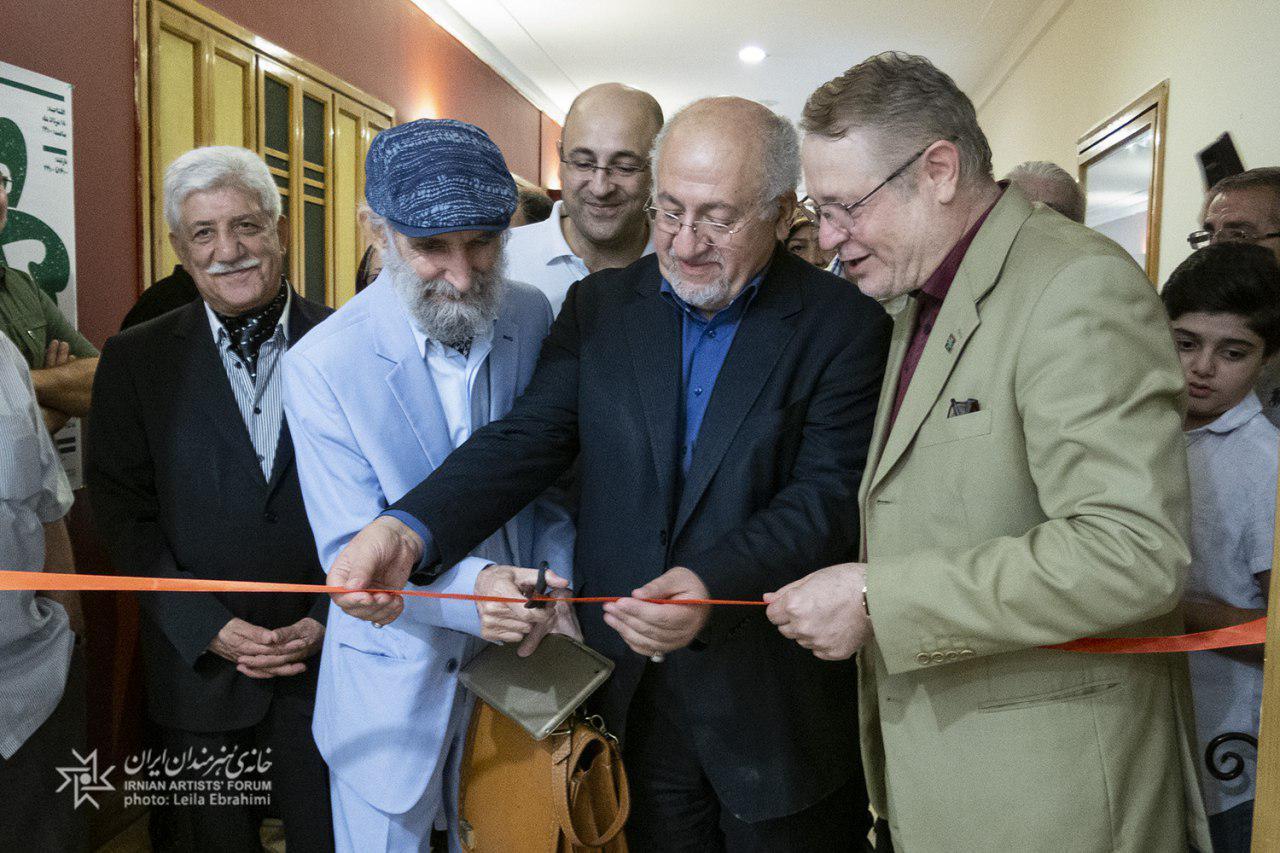 افتتاح نمایشگاه نقاشی های اسماعیل خلج
