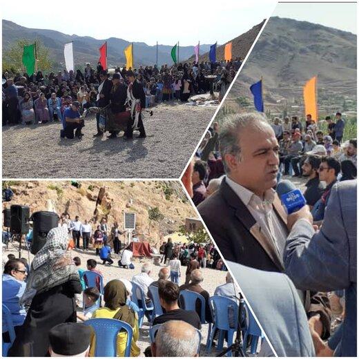 برگزاری آیین سنتی و باستانی نوسال «علی علی» در روستای تویه دروار دامغان