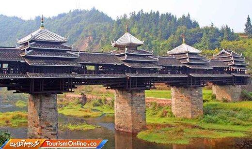 پلهای باد و باران چین