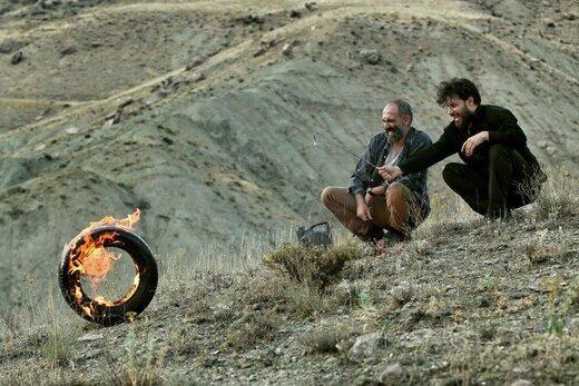 جواد عزتی در «آتابای» ترکی حرف میزند / عکسی جدید از فیلم