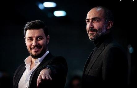 نخستین عکس از جواد عزتی و هادی حجازیفر در فیلم نیکی کریمی
