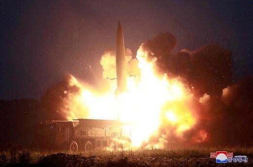 پرتاب آزمایشی یک موشک در یک مکان نامشخص در کرهشمالی