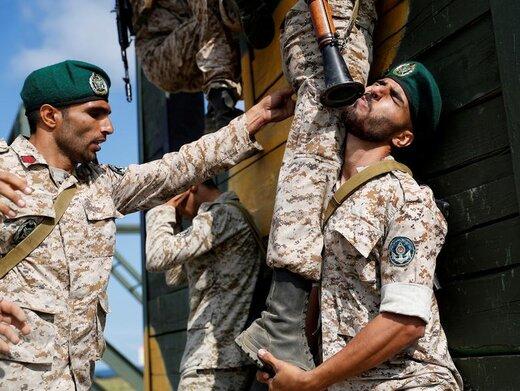 حضور تفنگداران دریایی ایران در مسابقات بینالمللی ارتشهای جهان در ساحل دریای بالتیک در منطقه کالینینگراد روسیه