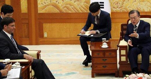 در دیدار وزیر دفاع آمریکا و رئیس جمهور کره جنوبی چه گذشت؟
