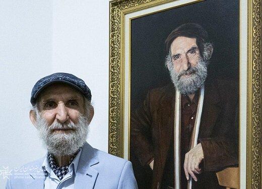 اسماعیل خلج که سالهاست از سینما و تئاتر فاصله گرفته، حاصل عمرش را به نمایش گذاشت/ عکس