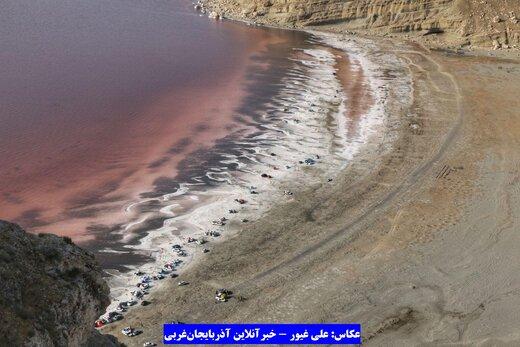 دریاچه ارومیه - 18 مرداد 98