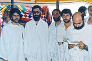 تصویری از رهبر انقلاب در لباس احرام