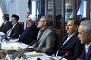 تصاویر | رئیس جمهور، رئیسی و لاریجانی در شورای عالی هماهنگی اقتصادی