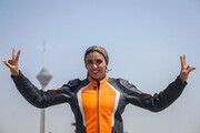 روایت تصویری رویترز از زندگی موتورسوار زن ایرانی