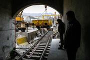 وفد ايراني يزور موقع إنشاء خط سكك الحديد شلمجة –-البصرة بالعراق