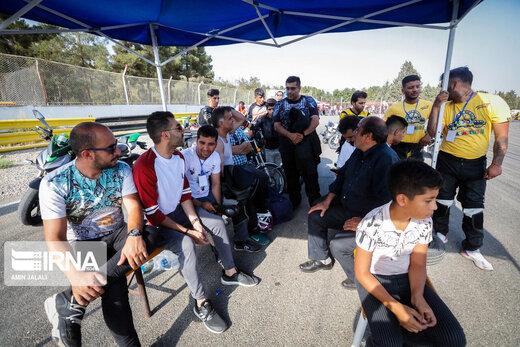 مسابقات حرکات نمایشی موتورسواری