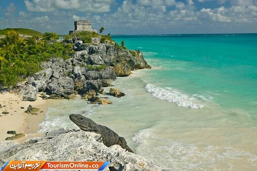 هشت: ساحل پلایا رویناس در کینتانا رو –مکزیک-