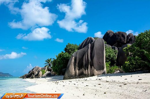 هفت: ساحل «Source d'Argent» دراقیانوس هند-سیشل-