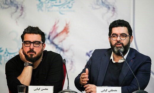 سلفی محسن کیایی با مهدی پاکدل و احسان کرمی پشت صحنه «همگناه»
