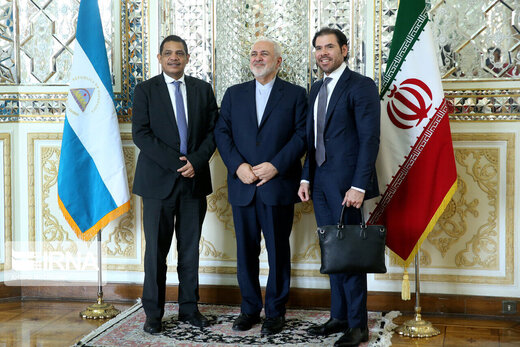 Nicaragua's economic delegation confers with Iran's FM Zarif on bilateral ties, int'l developments