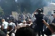 فیلم | حمله صهیونیستها به نمازگزاران عیدقربان در مسجدالاقصی