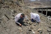 تصاویر | حجاج برای «رمی جمرات» سنگ جمع میکنند