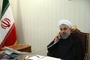 Rouhani terms Tehran-Baku ties as friendly, developing