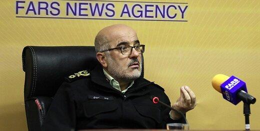 جانشین فرمانده ناجا: اتمام حجت پلیس با سلبریتیهای بدحجاب/ تغییر رفتارشان قابل مشاهده است