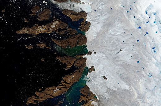 گرمای بیسابقه در گرینلند