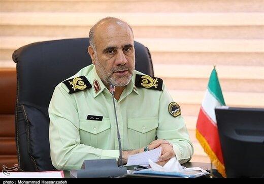 توضیح رئیس پلیس تهران درباره پیامکهای امنیت اخلاقی/ به پوشش افراد در محیطهای خصوصی کاری نداریم