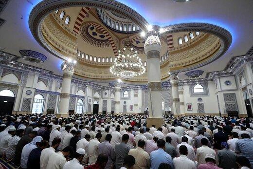 اقامه نماز عید قربان در دبی