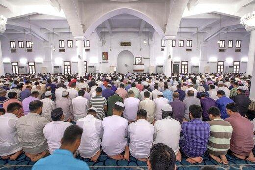 اقامه نماز عید قربان در ابوظبی